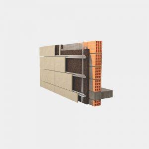 diatreta ventilisana fasada