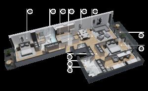 diatreta 3d display apartment 12