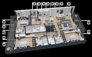 diatreta 3d display apartment 14