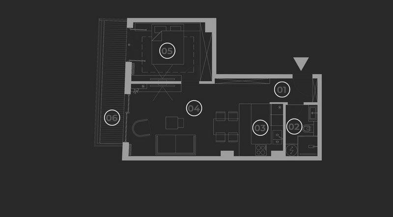 diatreta basis of the apartment 13