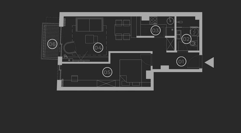 diatreta basis of the apartment 5