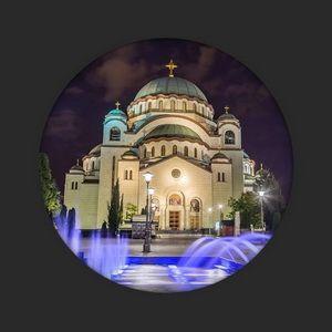diatreta location church of saint sava