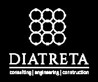 diatreta logo logotype footer
