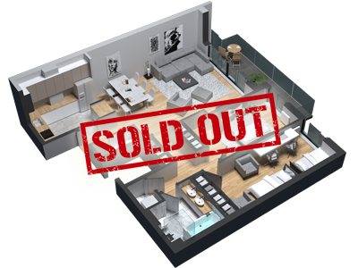 diatreta offer of apartments apartment 6 sold out